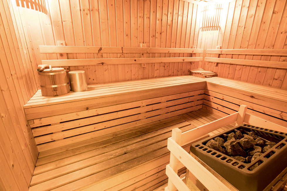sauna infrarotkabine pension elisabeth fr hst ckspension am millst tter see urlaub in. Black Bedroom Furniture Sets. Home Design Ideas