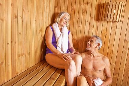 Finnische Sauna am Millstätter See – Urlaub in Kärnten am See – Pension Elisabeth