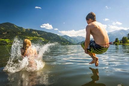 Badespaß am Millstätter See – Pension am Millstätter See – Urlaub in Kärnten