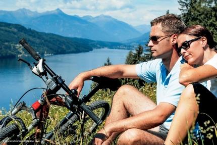 Radfahren am Millstätter See – Urlaub in Kärnten am See – Urlaub am Millstätter See – Pension Elisabeth
