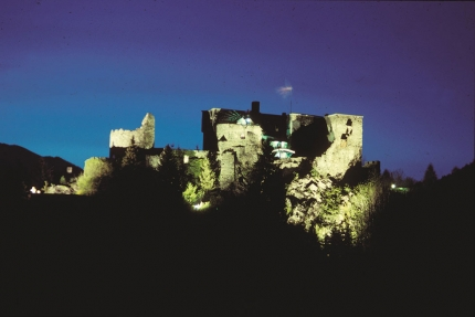 Burg Sommeregg – Urlaub am Millstätter See – Pension Elisabeth – Frühstückspension in Kärnten am See
