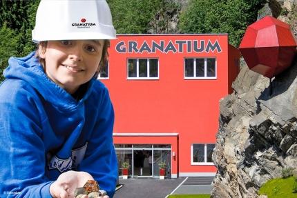 Granatium Radheim – Granat – Urlaub am Millstätter See – Pension Elisabeth – Frühstückspension in Kärnten am See