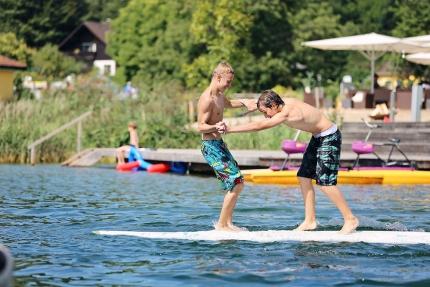 Wassersspaß – Urlaub in Kärnten – Pension Elisabeth – Pension am Millstätter See