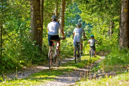 Radfahren am Millstätter See – Urlaub am Millstätter See – Pension Elisabeth – Frühstückspension in Kärnten am See