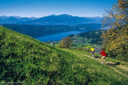 Mountainbiken am Millstätter See – Urlaub am Millstätter See – Pension Elisabeth – Frühstückspension in Kärnten am See