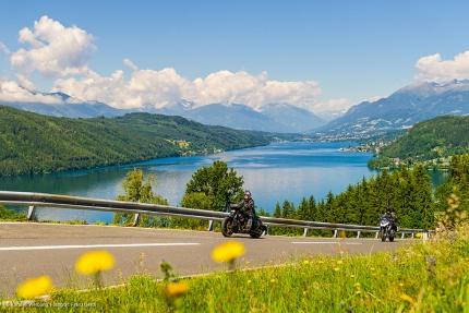 Motorradfahren am Millstätter See – Urlaub am Millstätter See – Pension Elisabeth – Frühstückspension in Kärnten am See