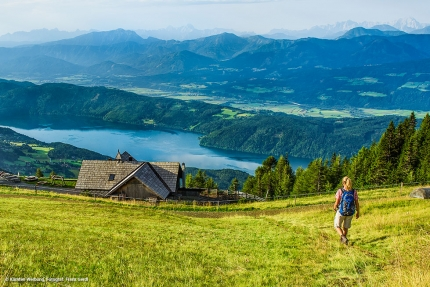 Sonnenweg zur Pichlhütte – Wanderurlaub in Kärnten – Frühstückspension am See – Pension Elisabeth
