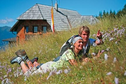 Alexanderhütte – Wanderurlaub in Kärnten – Frühstückspension am See – Pension Elisabeth