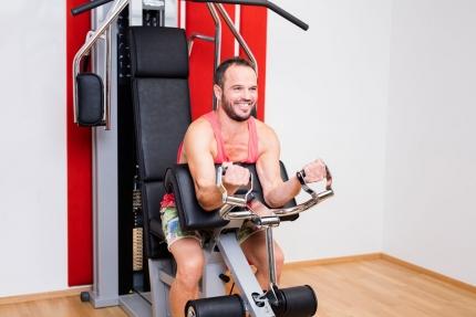 Fitnessraum im Schwesterhotel – Hotel ROYAL X – Urlaub in der Pension Elisabeth – Frühstückspension am Millstätter See