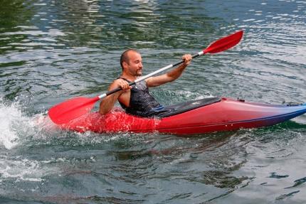 Kajak fahren – Bootsverleih am Millstätter See – Urlaub in Kärnten am See – Pension Elisabeth
