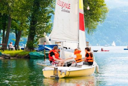 Segeln – Bootsverleih am Millstätter See – Urlaub in Kärnten am See – Pension Elisabeth