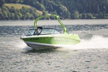 Sportmotorboot – Bootsverleih am Millstätter See – Urlaub in Kärnten am See – Pension Elisabeth