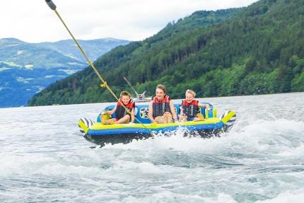 Sofa fahren am Millstätter See – Urlaub in Kärnten am See – Pension Elisabeth