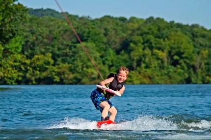 Wakeboarden am Millstätter See – Urlaub in Kärnten am See – Pension Elisabeth