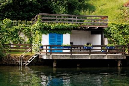 Hauseigene Badelaube – Ferienhäuser Leitner – Familienurlaub am Millstätter See – Familienurlaub in Kärnten am See