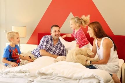Sporthotel ROYAL X – Schwesterhotel der Pension Elisabeth – Familienzimmer – Familienurlaub am Millstätter See – Urlaub in Kärnten am See