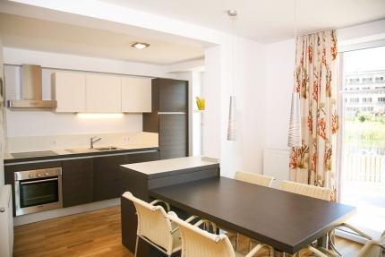 Seevilla Cattina – Küche im Appartement Wasserstern – Luxus-Appartements direkt am Millstätter See in Kärnten