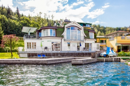 Seevilla Cattina – Luxus-Appartements direkt am Millstätter See in Kärnten