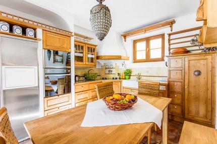 Seevilla Leitner – Küche – Stilvolle Seevilla direkt am Millstätter See in Kärnten